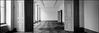 © Christian Vogt, Architekturmuseum II, 2005, Carbon pigment print on rag paper, 13.5 x 40 cm, Edition of 3