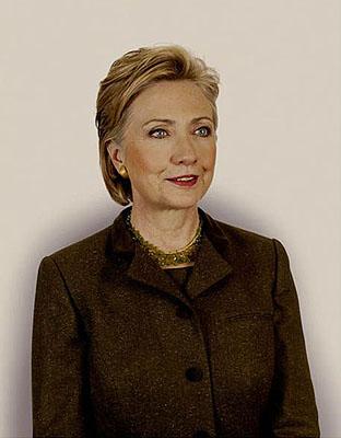 © Nadav Kander, Hillary Rodham Clinton, Secretary of State Washington, D.C., 2008
