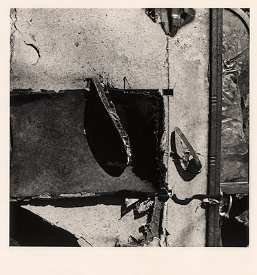 Walker Evans, 1976 © Polaroid collection