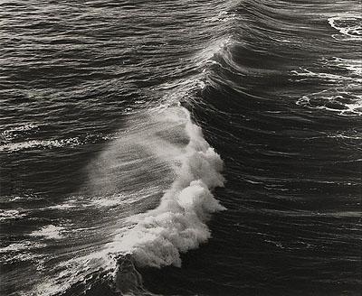 Kirsten Klein, Atlantic Ocean Wave 1977 © courtesy of the artist