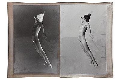 Jeff CowenAlexandra 6, 2010Silver Print, Mixed Media127 x 177 cmEdition 6Courtesy Galerie Bernd Klüser