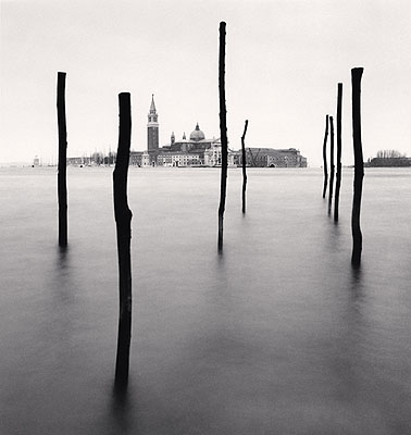 Basilica and Eight Poles, Venice, Italy, 1990  © Michael Kenna