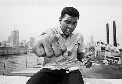 Thomas Hoepker, Muhammad Ali, Chicago, 1966 © Tomas Hoepker / Magnum Photos