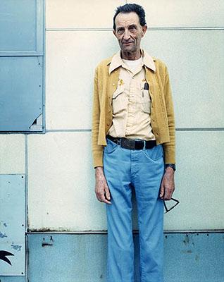 Bruce Wrighton, Downtown Man #3, Binghamton, NY, 1987Cortesía de Laurence Miller, New York