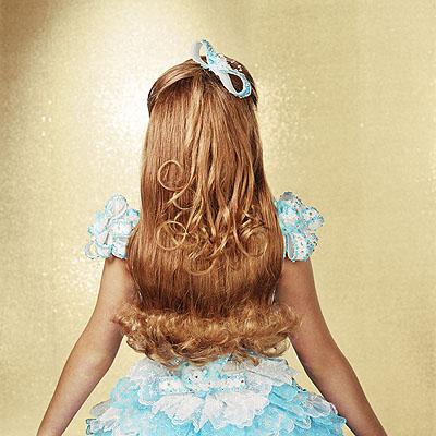 © Susan Anderson, Elizabeth (verso), Age 9, Austin Texas, 2005from the series High Glitz