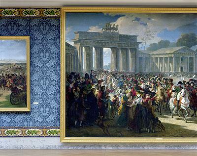 ROBERT POLIDORIEntrée de Napoléon à Berlin by Charles Meynier, 1810 Attique du Midi, Aile du Midi - Attique Chateau de Versailles, 2009