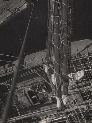 Eli Lotar, SHIP MASTS, c. 1930