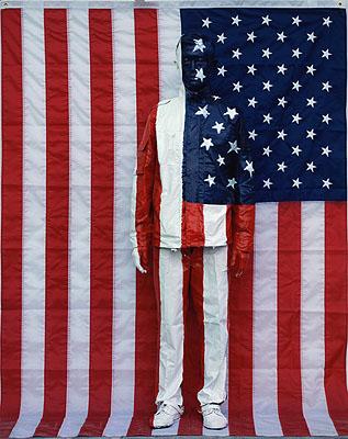 American national Flag, Digital C-Print, 118 x 150 cm, Edition of 8