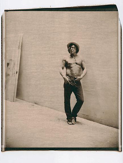 Julian Schnabel. Polaroids © Julian Schnabel, 2008