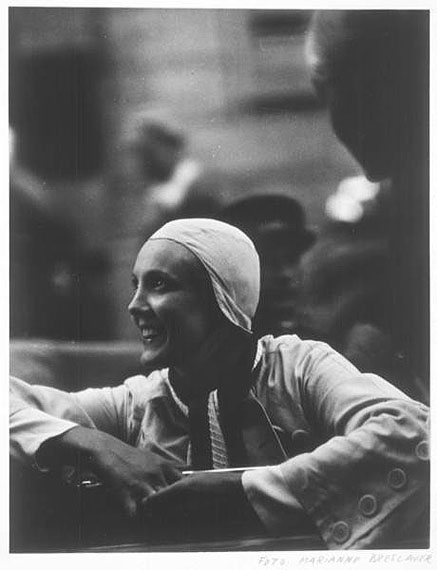 Marianne Breslauer, Maud Thyssen, Ascona 1933/34, © Konrad Feilchenfeldt/ Walter Feilchenfeldt