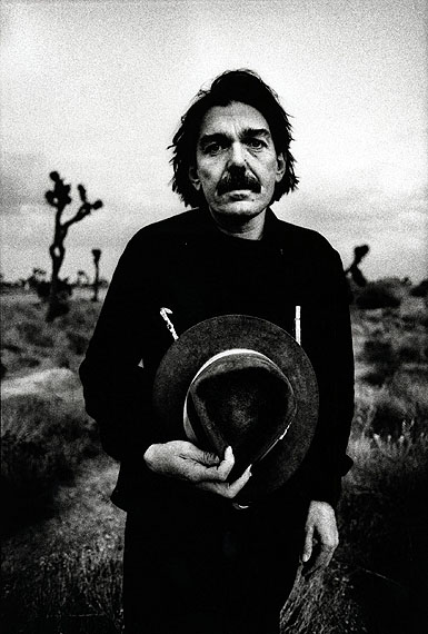 Anton Corbijn, Don van Vliet, Mojave Dessert, 1980