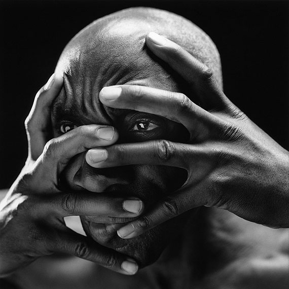 Retrato de Clyde Morgan, 1993© Mario Cravo Neto. Courtesy Galerie Esther Woerdehoff