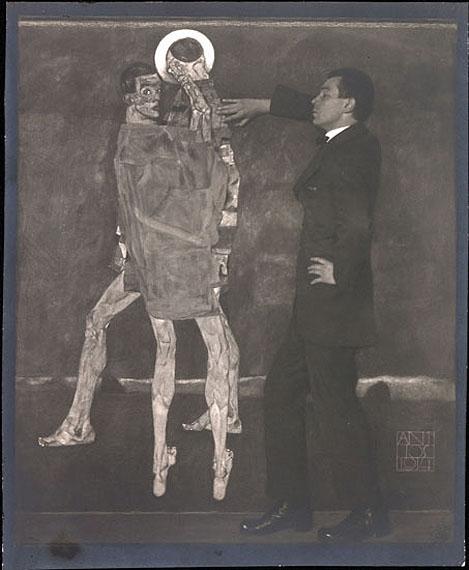 Anton Josef Trčka (1893-1940)Egon SchieleVintage silver print21,2 x 17,3 cm (8.3 x 6.8 in)Vienna 1914Signed and dated by the photographer in the original negativeEUR 50,000-60,000 (Schätzwert)EUR 26.000 (Startpreis)