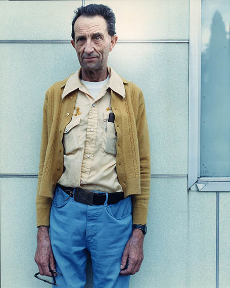 Man in Gold Sweater, 1987 by Bruce Wrighton