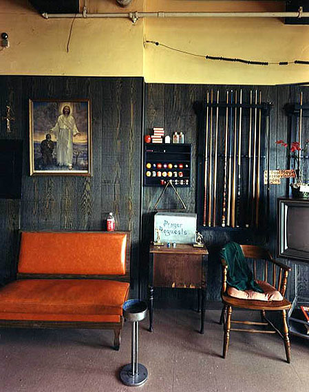 Recreation Room, Salvation Army, 1986 by Bruce Wrighton
