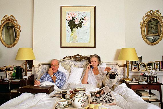 © Herlinde Koelbl: aus der Serie Schlafzimmer, London, London 2000