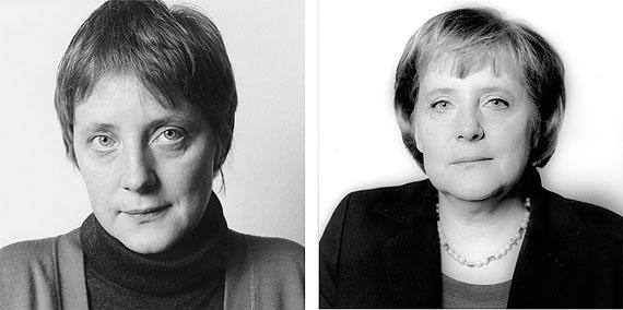 © Herlinde Koelbl: aus der Serie Spuren der Macht, Angela Merkel, Bonn 1991 – Berlin 2006