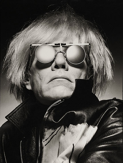 Albert Watson, Andy Warhol, New York City, 1983, Vintage Watson, courtesy of Hamiltons