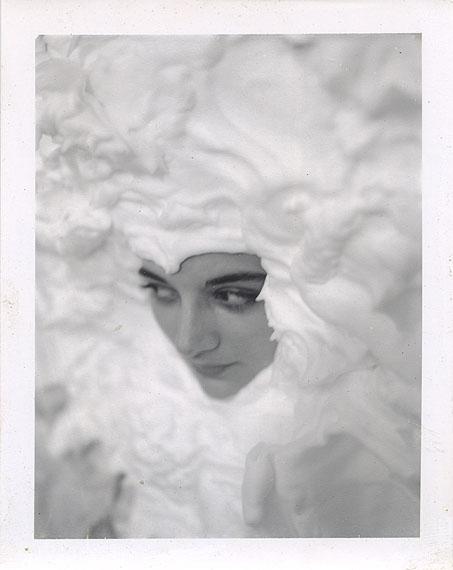 Mark MorrisroeUntitled [Lynelle], c. 1985T-665 Polaroid, 10.7 x 8.5 cm© The Estate of Mark Morrisroe (Ringier Collection) at Fotomuseum Winterthur
