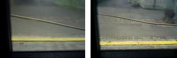 Miklos Gaál Echo / Water Level, 2009, slide show of 20 images on Kodak Carousel