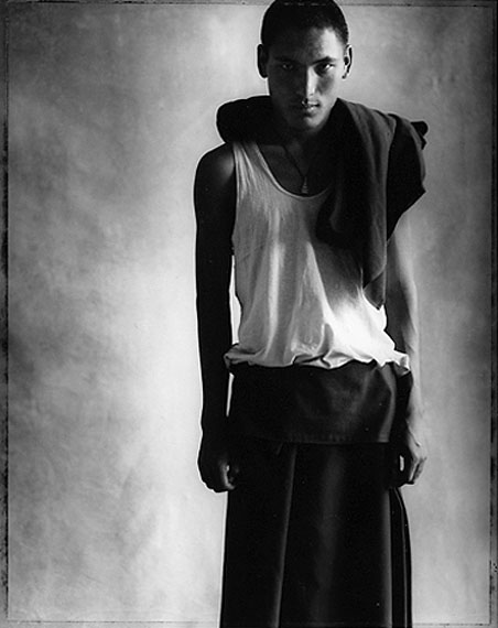 © Sheila Rock, Portrait of a young monk, 2002