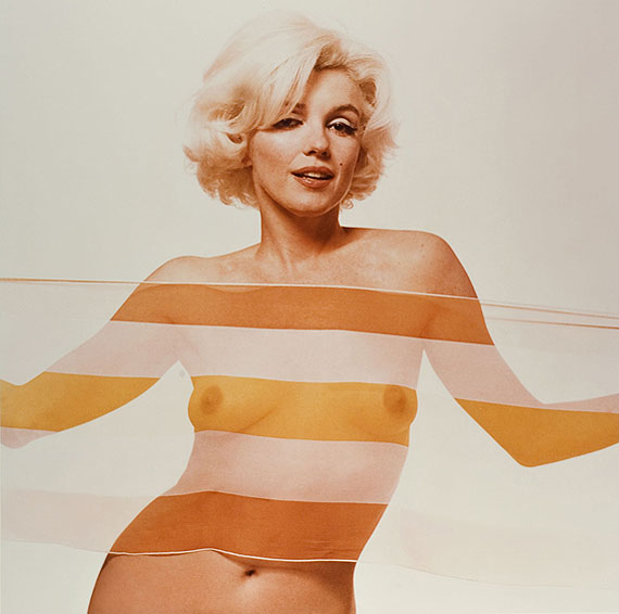 Bert Stern, Marilyn Monroe aus der Serie: The last sitting, 1962 © Bert Stern