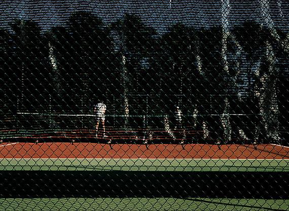 Tenniscourt, Eastham, Massachusetts