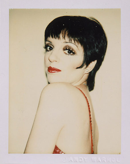 Andy Warhol: Liza Minnelli, 1977©The Andy Warhol Foundation for the Visual Arts, New York