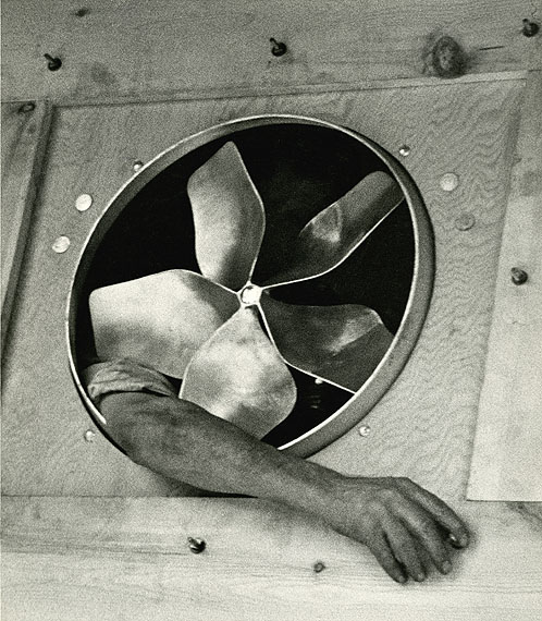 André KertészArm and Ventilator, 1937Gelatin silver printprinted in the 1940s-1950s, 30,5 x 26,7 cmCollection of Eric Cepotis and David Williams