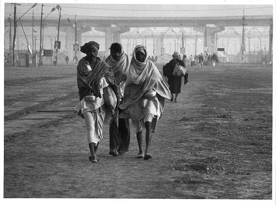 Barbara Klemm, Kunbh Mela, Allahabad, Indien, 1982 , MMK Museum für Moderne Kunst