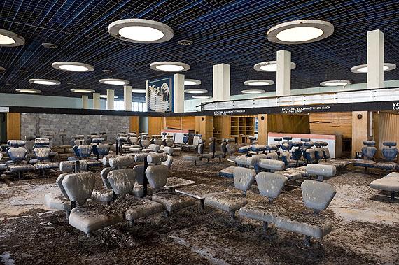 Airport Terminal Nicosia Cyprus © Nick Hannes
