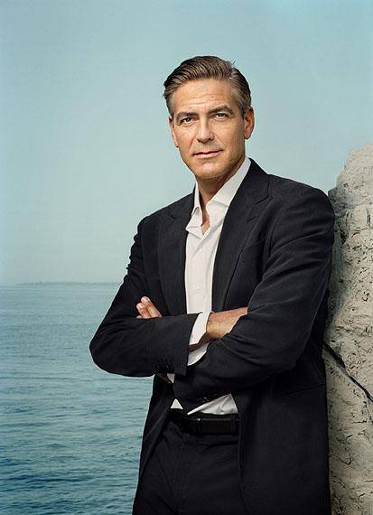 Martin Schoeller: George Clooney, Cannes 2007 © Martin Schoeller
