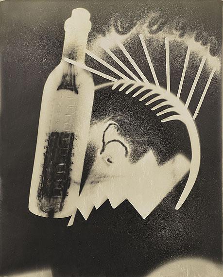 Man RayUntitled, Rayograph, 1924Vintage silver printEstimate € 120,000 – 180,000