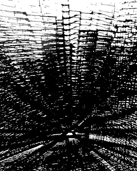 1963-Lichtgrafik-2-112-Illustr. #16 zu-Heißenbüttel-Roman- 60x50cm