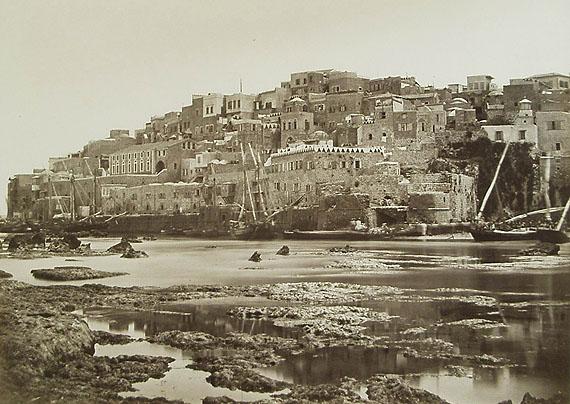 Félix Bonfils: Jaffa, Seeseite, um 1875Reiss-Engelhorn Museen(rem)/ Forum Internationale Photographie(FIP)