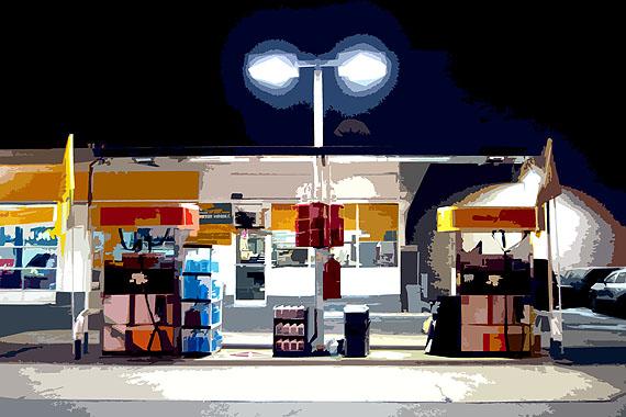 © Daniela Finke, Gas station