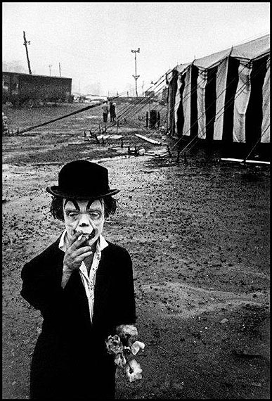 The Dwarf and the Clyde Beatty Circus, 1958© Bruce Davidson courtesy Magnum Gallery