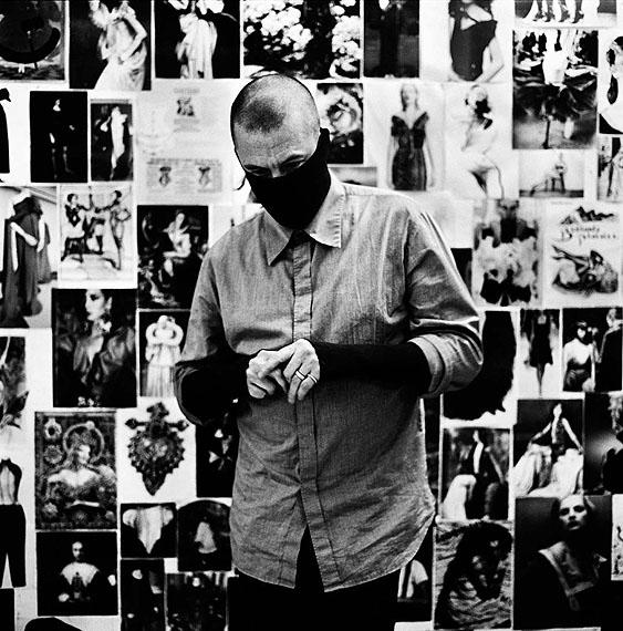 Alexander McQueen Londen 2007 © Anton Corbijn