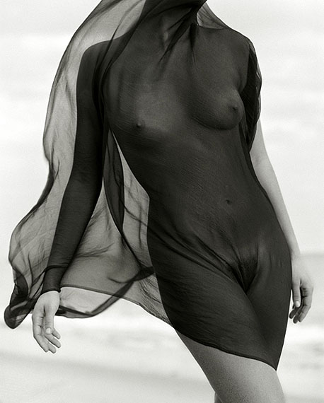 © Herb Ritts FoundationFemale Torso with Veil Paradise Cove, 1984