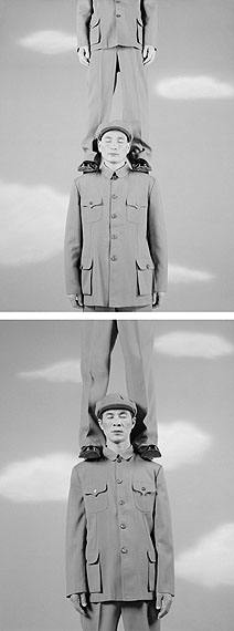 "WANG NINGDE: ""Some Days No. 60 (Diptych)"" (2009) Silver Gelatin. 50x40cm x 2 - Ed. of 10; 60x50cm x 2 - Ed. of 10; 160x123cm x 2 - Ed. of 10. © Wang Ningde. Courtesy of m97 Gallery."