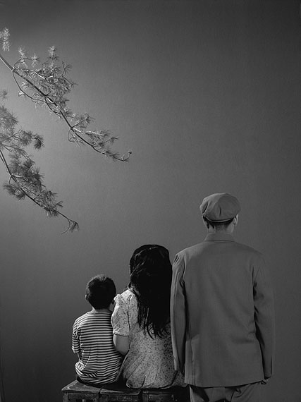 "WANG NINGDE: ""Some Days No. 72"" (2009) Silver Gelatin. 50x40cm x 2 - Ed. of 10; 60x50cm x 2 - Ed. of 10; 160x123cm x 2 - Ed. of 10.  © Wang Ningde. Courtesy of m97 Gallery"