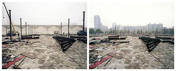 Ai WeiweiProvisional Landscape (Vorläufige Landschaft), 2002-2008Diptychon© Ai Weiwei