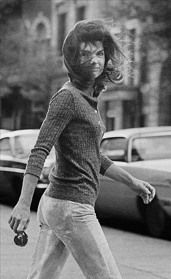 Windblown JackieOctober 7, 1971: New York, NY. Jackie Onassis walking on Madison Avenue.© Ron Galella