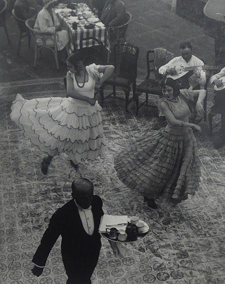 Dancers, Seville, Spain, 1930 © Martin Munkácsi.   Vintage silver gelatin print.