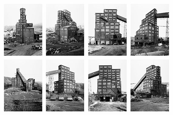 Harry E. Colliery Coal Breaker, Wilkes-Barre, Pennsylvania, USA 1974foto: Bernd & Hilla Becher