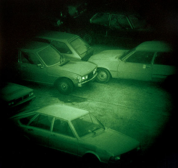 Nacht 9II, 1992,45 x 46 cm AP 1/3 @ Thomas Ruff