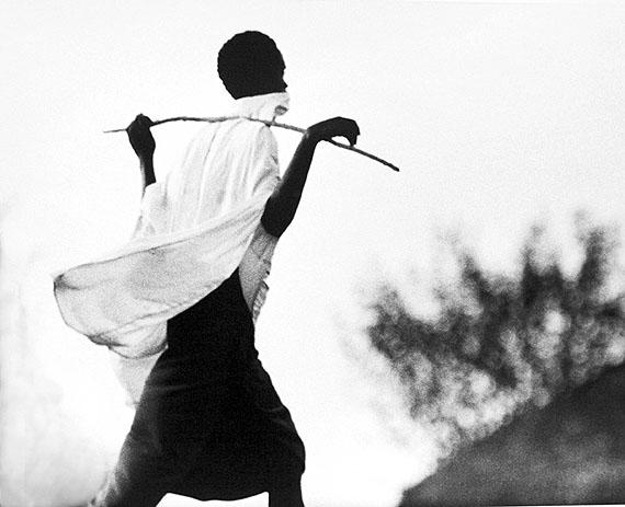 Orma Cattle Herder, 1967/68MR1393, Platinum PrintEdition 2/8, 50 x 60 cm 24in x 20in© Mirella Ricciardi, Courtesy Bernheimer Fine Art Photography
