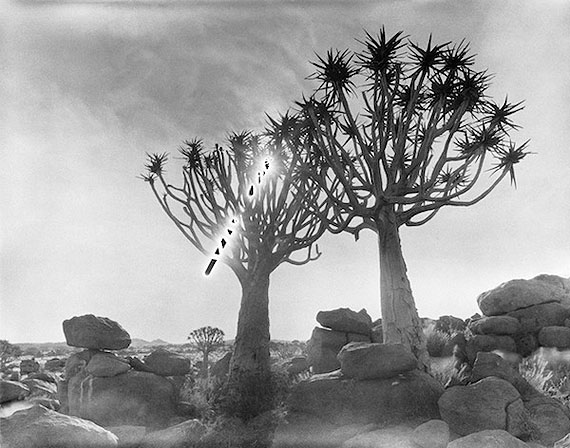 Hans-Christian Schink, 4/10/2009 4:11 pm - 5:11 pm S: 26°28.034' E: 018°16.142', 2009Silbergelatine-Abzug, Auflage 8. Formate: 80 x 98 cm, 121x145 cm, 178 x 214 cm© Hans-Christian Schink, Courtesy Galerie Rothamel