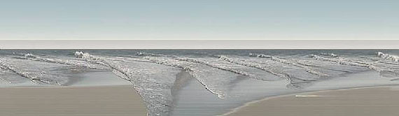 Galerie DeschlerJay Mark Johnson, Point dume waves #1, 2007. Fotografie, 110 x 380 cm