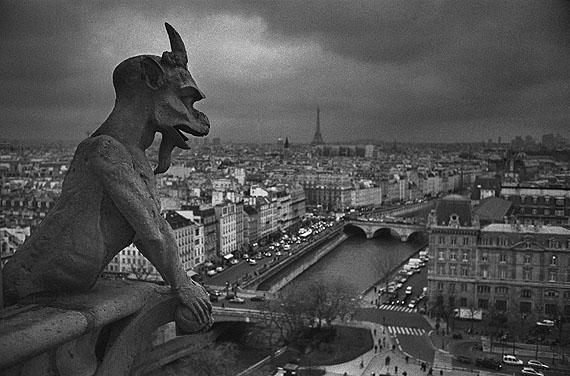 """Andréas Lang""""Gargouille de Notre Dame"""", Paris 2006 aus ANDRÉAS LANG - """"SOUS LES OGIVES""""© Andréas Lang"""